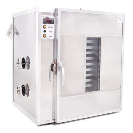 14 shelves Pollen dryer and warming cabinet - Stainless steel