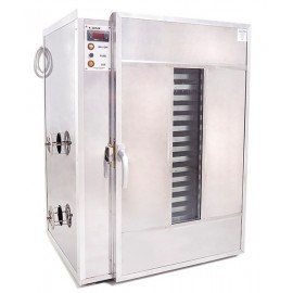 20 shelves Pollen dryer and warming cabinet - Stainless steel