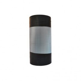 Aluminium expanded metal mesh, width 440 mm, thickens 0.8 mm