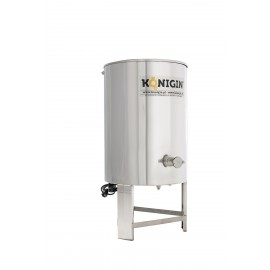 Heated Honey tank 100 l - integrated stand, double jacket