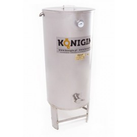 Heated Honey tank 200 l  - integrated stand, double jacket