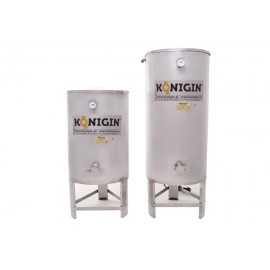 Heated Honey tank 300 l  - integrated stand, double jacket