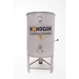 Heated Honey tank 150 l - integrated stand, double jacket