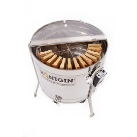 Radial honey extractors